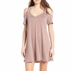 Socialite Sofia Cold Shoulder Dress - Size XL